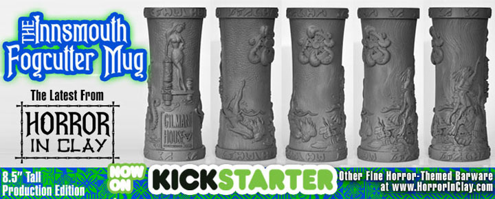 Shop Around: Horror In Clay Puts the Lovecraft into Tiki Mugs and Merchandise
