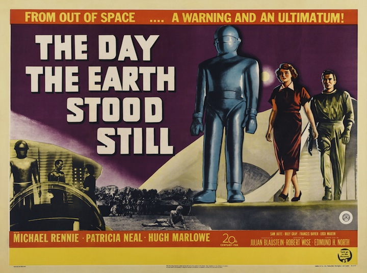Retro Review: Stop the World, I Want To See THE DAY THE EARTH STOOD STILL Presented by Enjoy the Film and Cinevision!