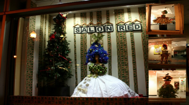Kool Kat of the Week: Salon Red's Jessica Soler and the Art Institute of Atlanta Get Avant-garde and Decked Out in Decatur This Holiday Season