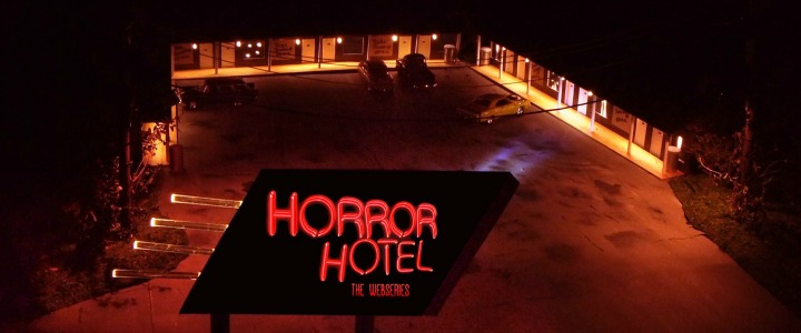 Kool Kat of the Week: Horror Family Values – The Hess Family Gets Twisted, Raring to Spawn Season 2 of their Award-Winning TWILIGHT ZONE meets Alfred Hitchcock meets Ray Bradbury Web-Series, HORROR HOTEL!