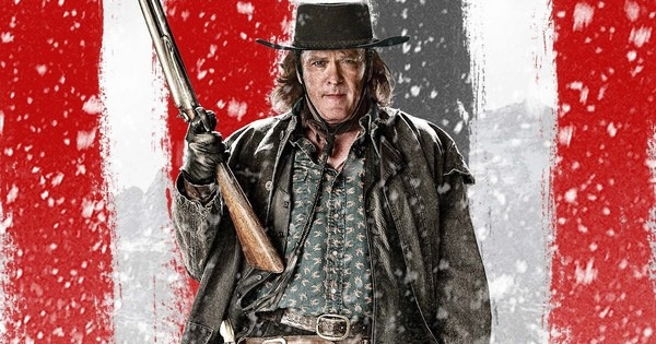 Michael Madsen in HATEFUL EIGHT. Weinstein Co. Used with permission.