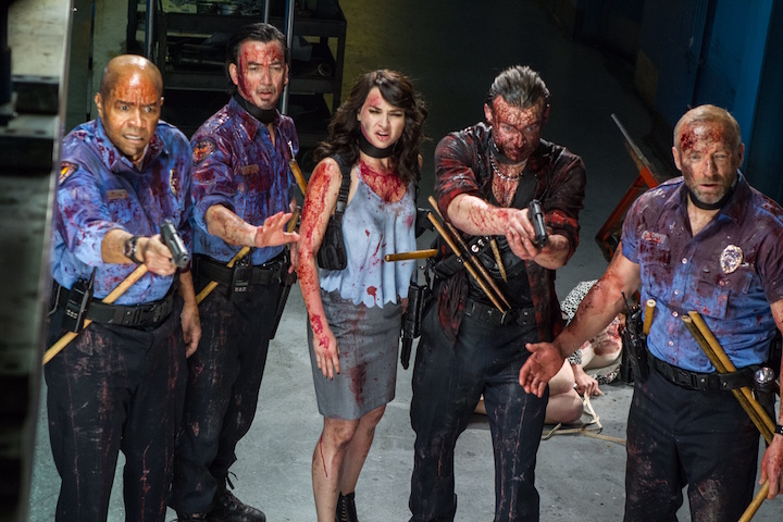 Vampire Clowns, Buckets of Blood and '80s Cult Movie Mayhem: An Interview with Mitchell Altieri, Director of THE NIGHT WATCHMEN, World Premiere at Buried Alive Film Festival Thursday Nov. 17