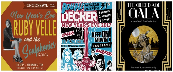ATLRetro's Throw Back to the 20th Century New Year's Eve Guide – Our Top Ten Vitally Vintage Eras for Toasting 2017